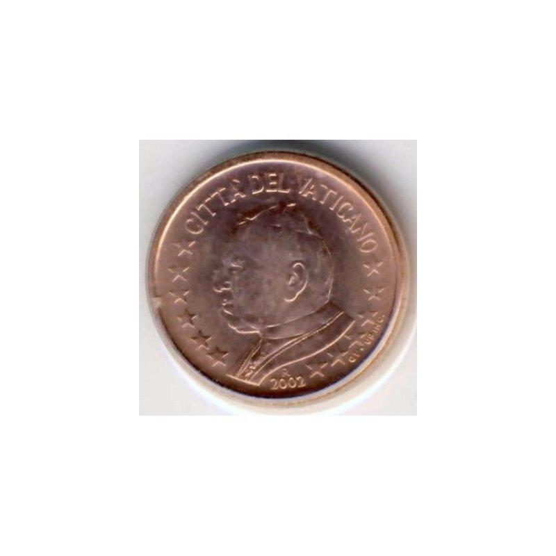 1 Cent Kursmünze Vatikan 2002 4054