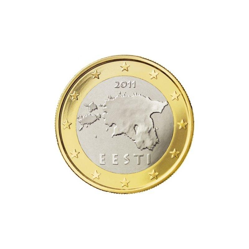 1 Euro Kursmünze Estland 2011 231