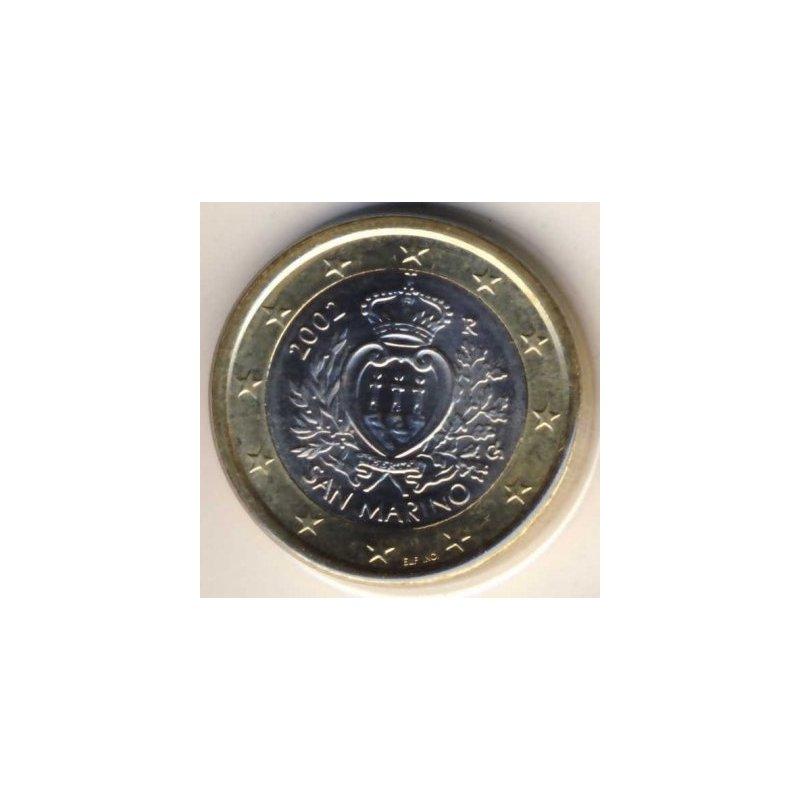 1 Euro Kursmünze San Marino 2002 1195
