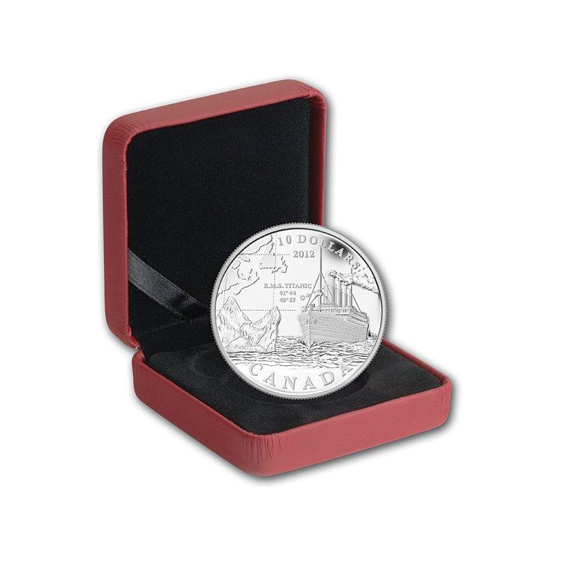 10 Dollar Silbermünze Kanada 2012 Titanicpp 6018