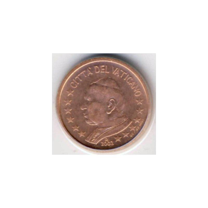 2 Cent Kursmünze Vatikan 2002 4054