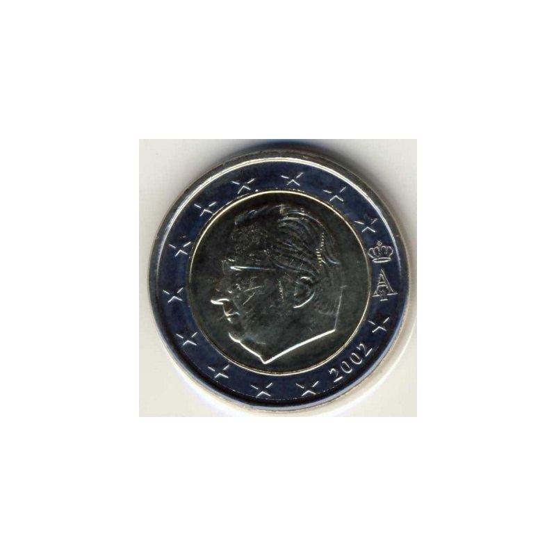 2 Euro Kursmünze Belgien 2002 590