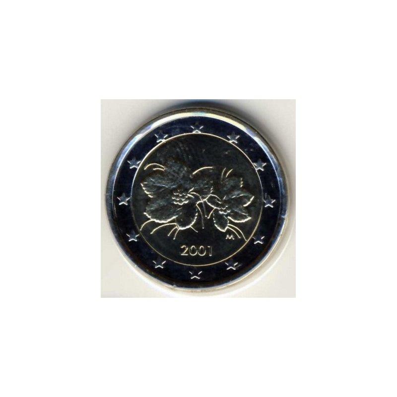2 Euro Kursmünze Finnland 2001 590
