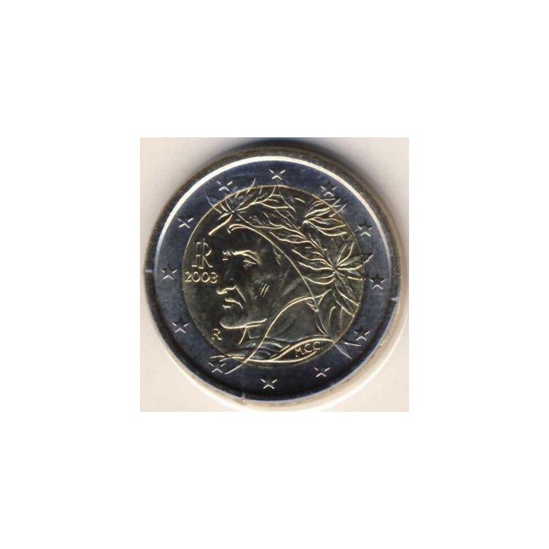 2 Euro Kursmünze Italien 2003 1490