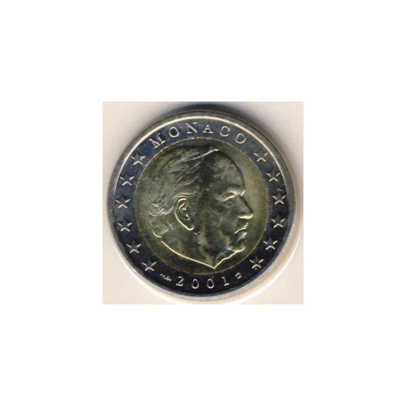 2 Euro Kursmünze Monaco 2001 1190