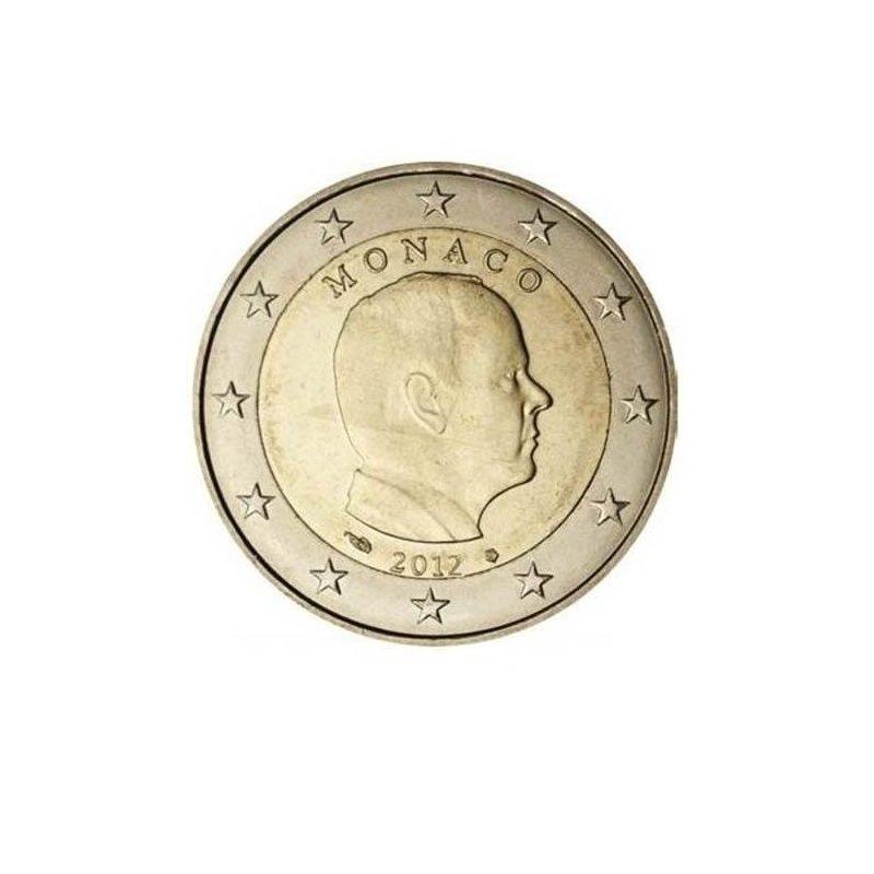 2 Euro Kursmünze Monaco 2012prince Albert Ii 590