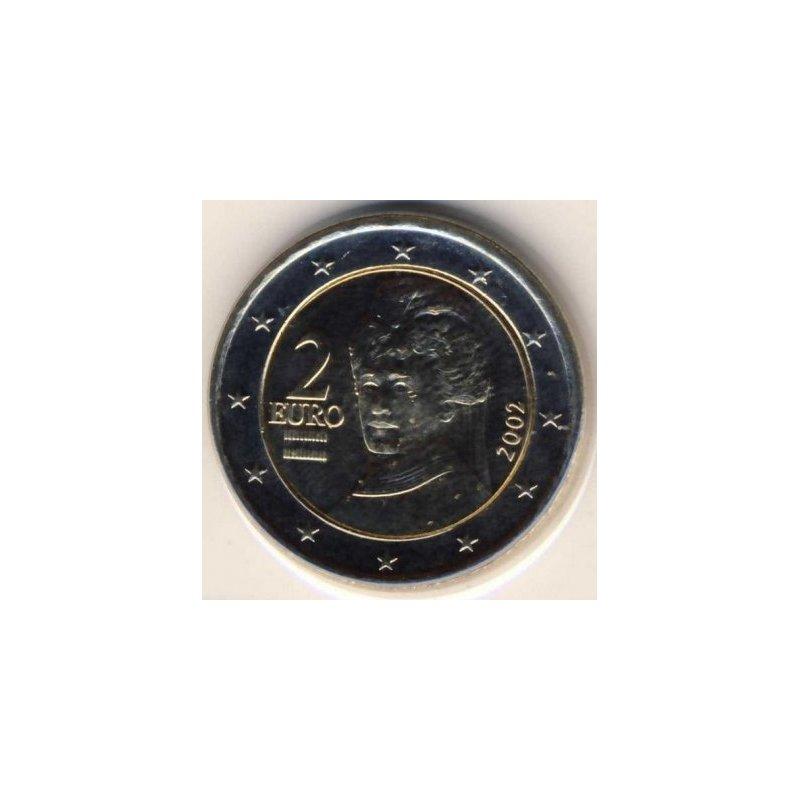 2 Euro Kursmünze österreich 2002 490