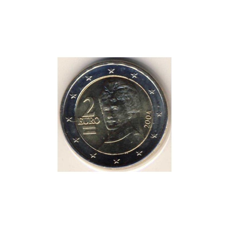 2 Euro Kursmünze österreich 2004 590