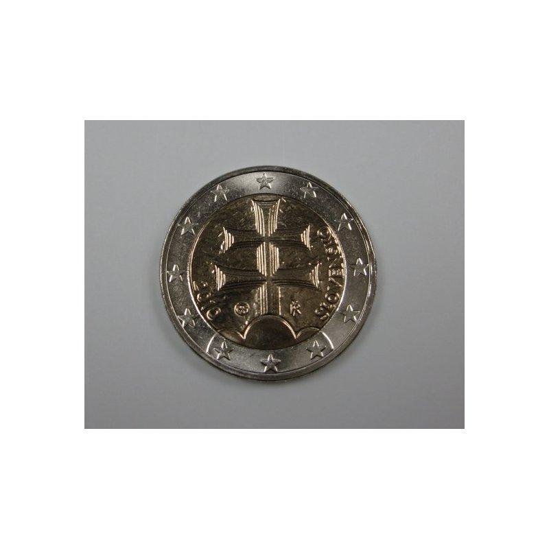 2 Euro Kursmünze Slowakei 2011doppelkreuz 1790 Eu