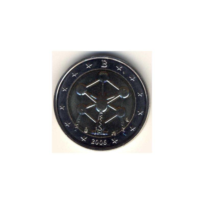 2 Euro Sondermünze Belgien 2006atomium 990