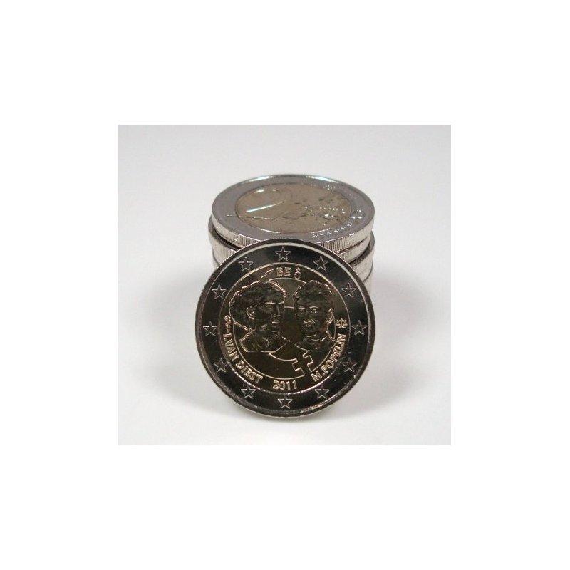 2 Euro Sondermünze Belgien 2011frauentag 350 Euro