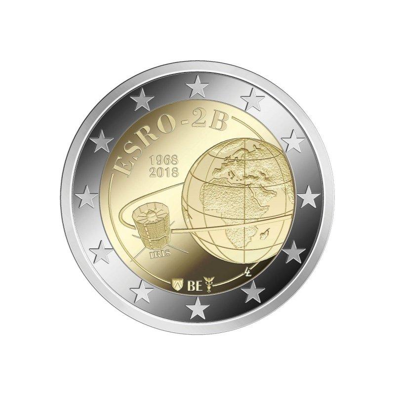 2 Euro Sondermünze Belgien 2018esro Unc Bankfrisch