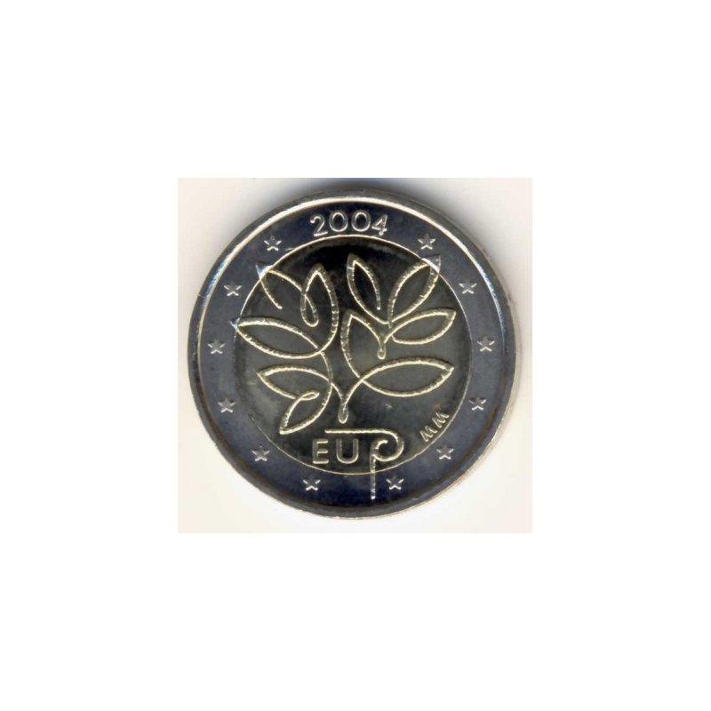 2 Euro Sondermünze Finnland 2004eu Erweiterung 598