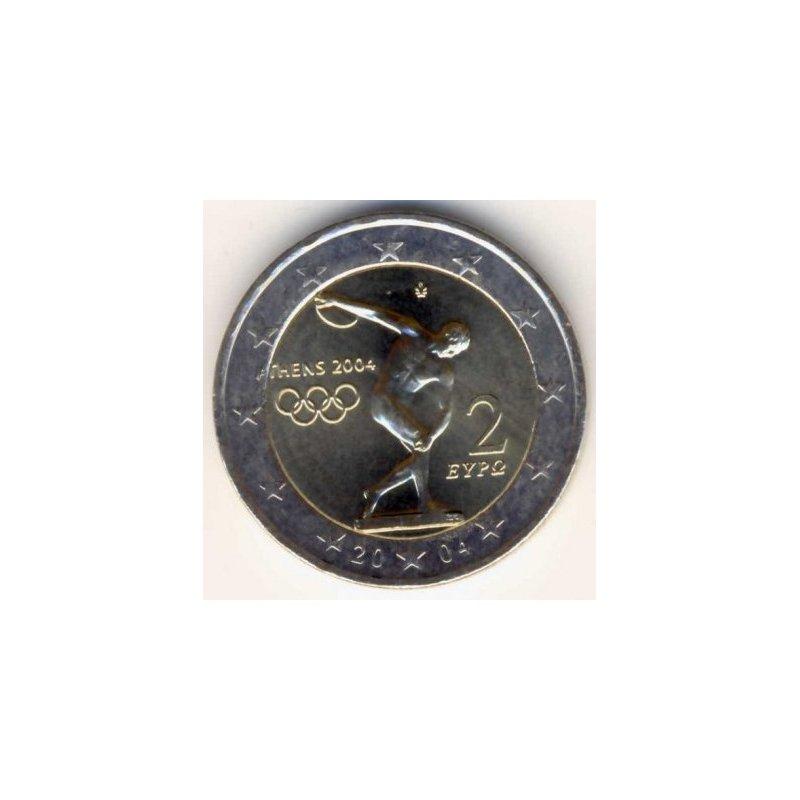 2 Euro Sondermünze Griechenland 2004olympia Athen 4