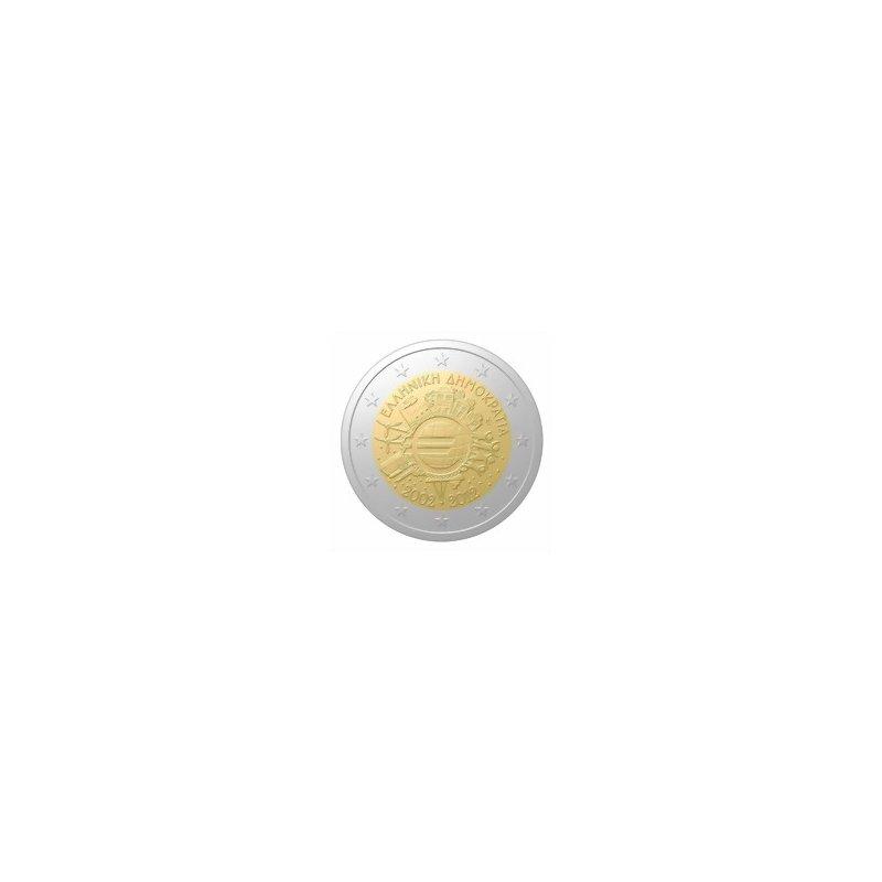 2 Euro Sondermünze Griechenland 201210 Jahre Euro Bargeld