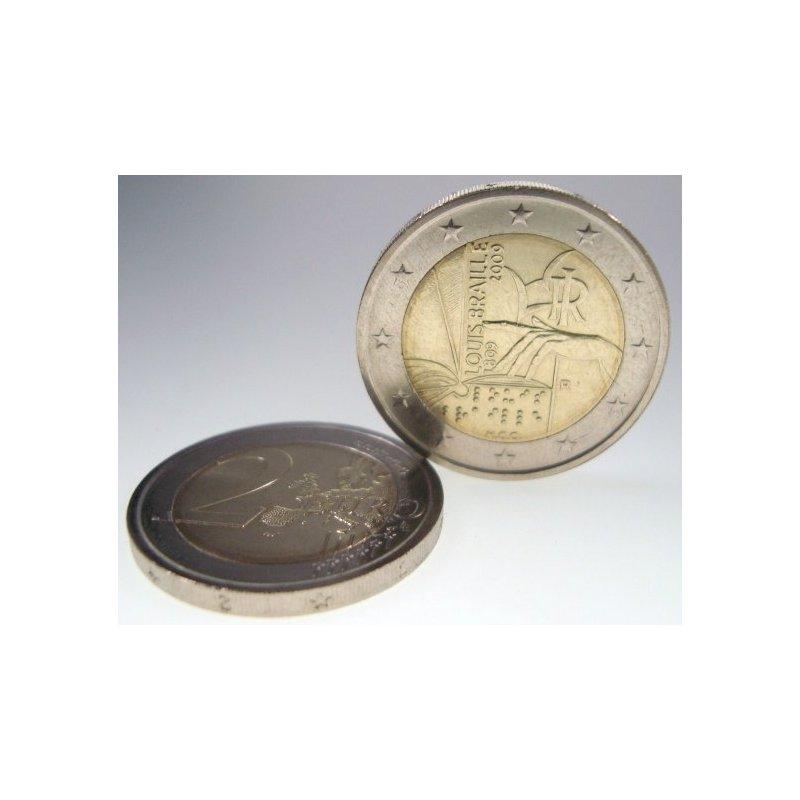 2 Euro Sondermünze Italien 2009louis Braille 364