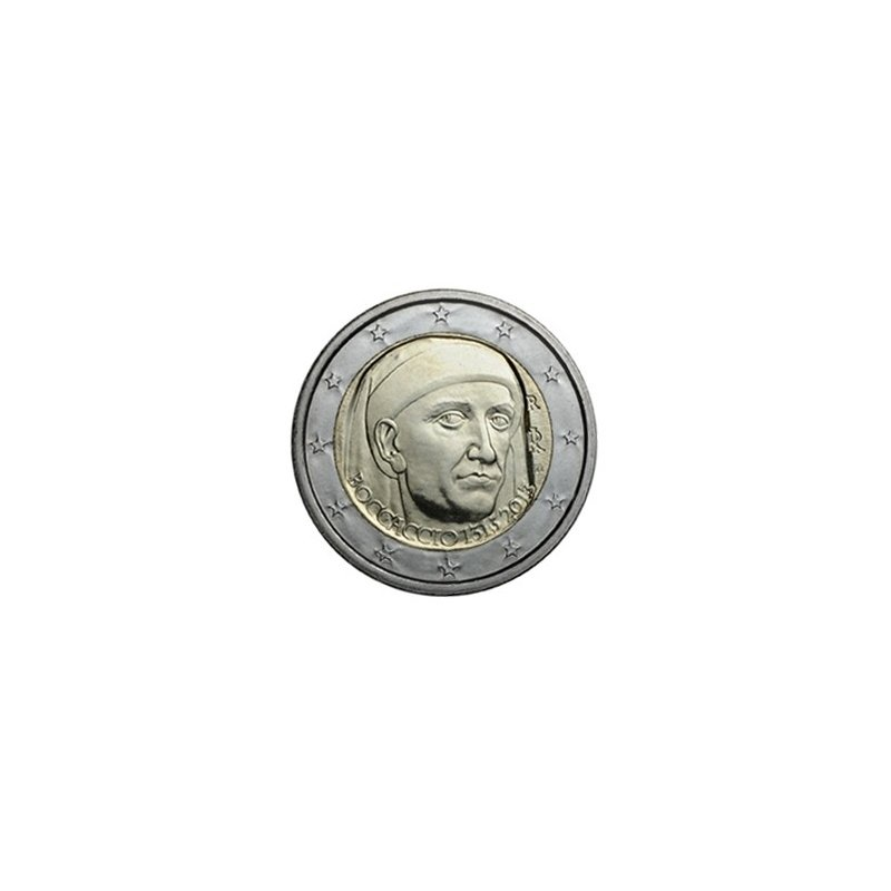 2 Euro Sondermünze Italien 2013boccaccio 350 Euro