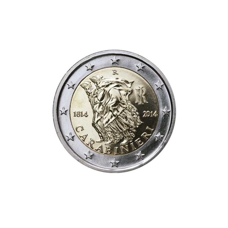2 Euro Sondermünze Italien 2014carabinieri 350 Eu