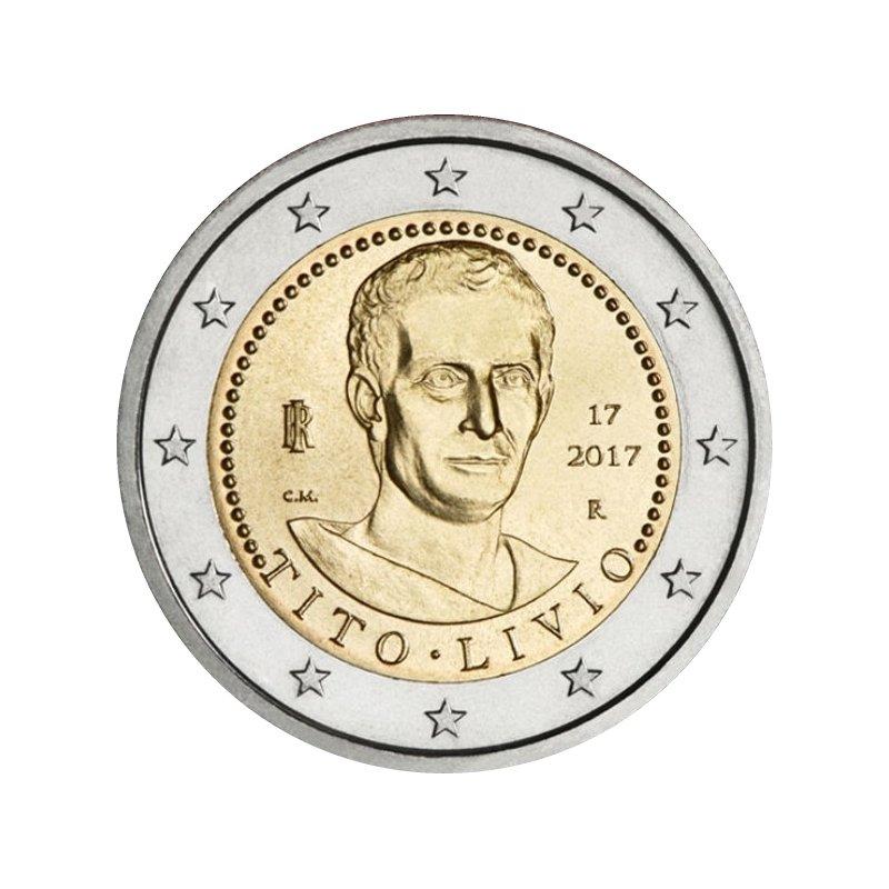2 Euro Sondermünze Italien 2017tito Livio Bankfrisch