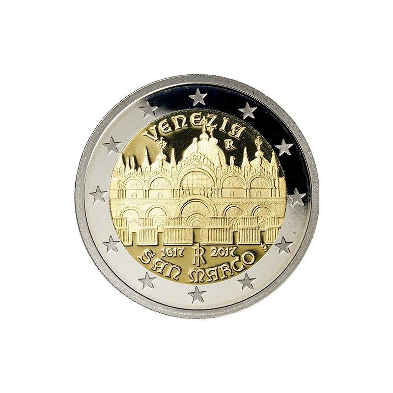 2 Euro Sondermünze Italien 2017venezia Bankfrisch 3