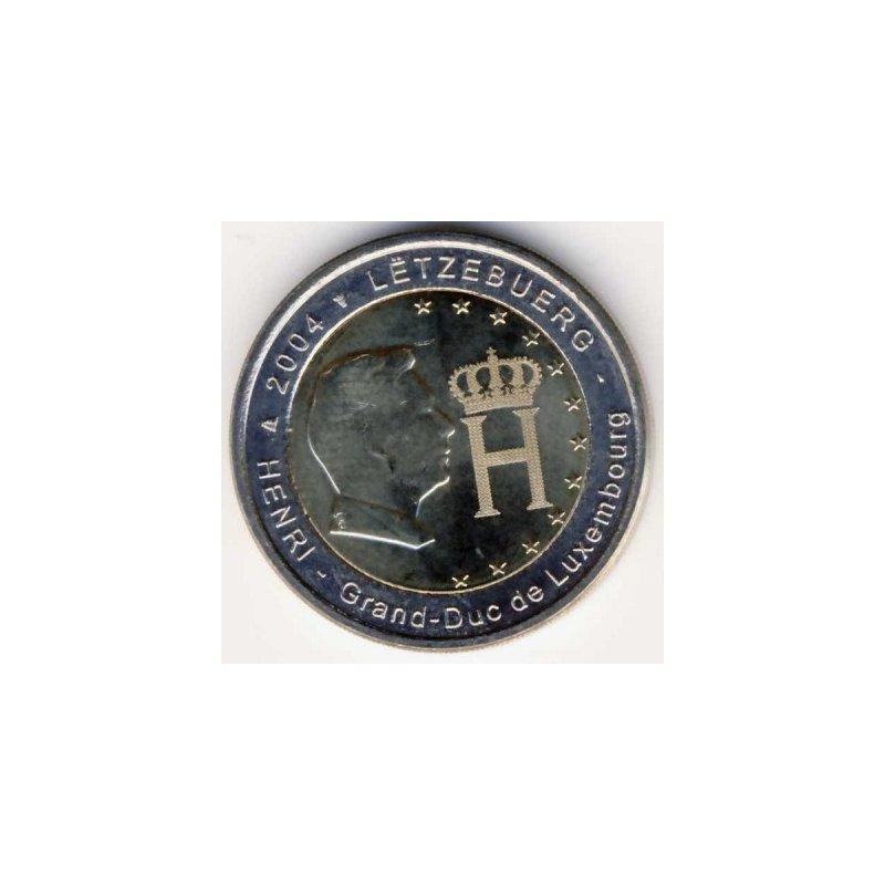 2 Euro Sondermünze Luxemburg 2004monogramm 490 Eu