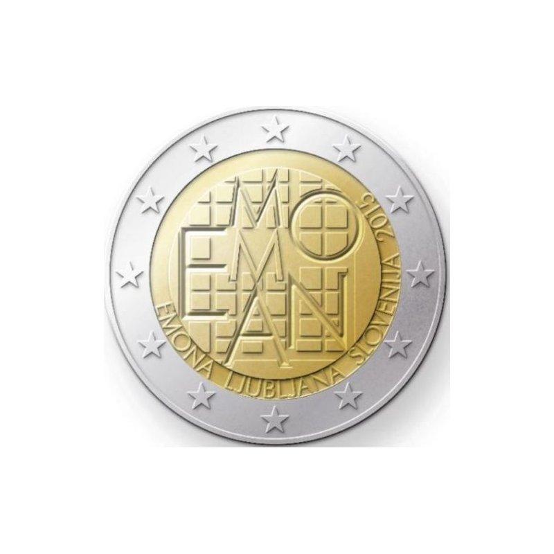 Pp 2 Euro Sondermünze Slowenien 2015emona Ljubljana
