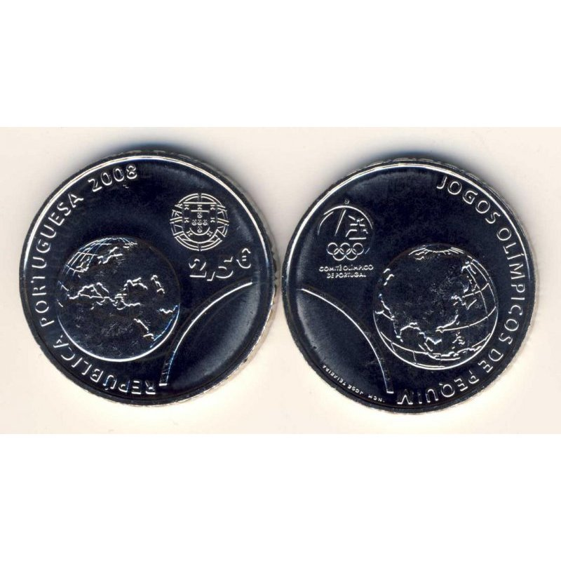 250 Euro Gedenkmünze Portugal 2008olympia Peking Un