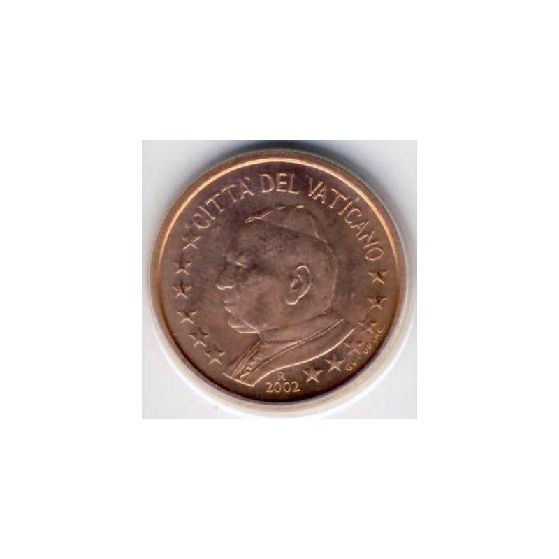 5 Cent Kursmünze Vatikan 2002 4677
