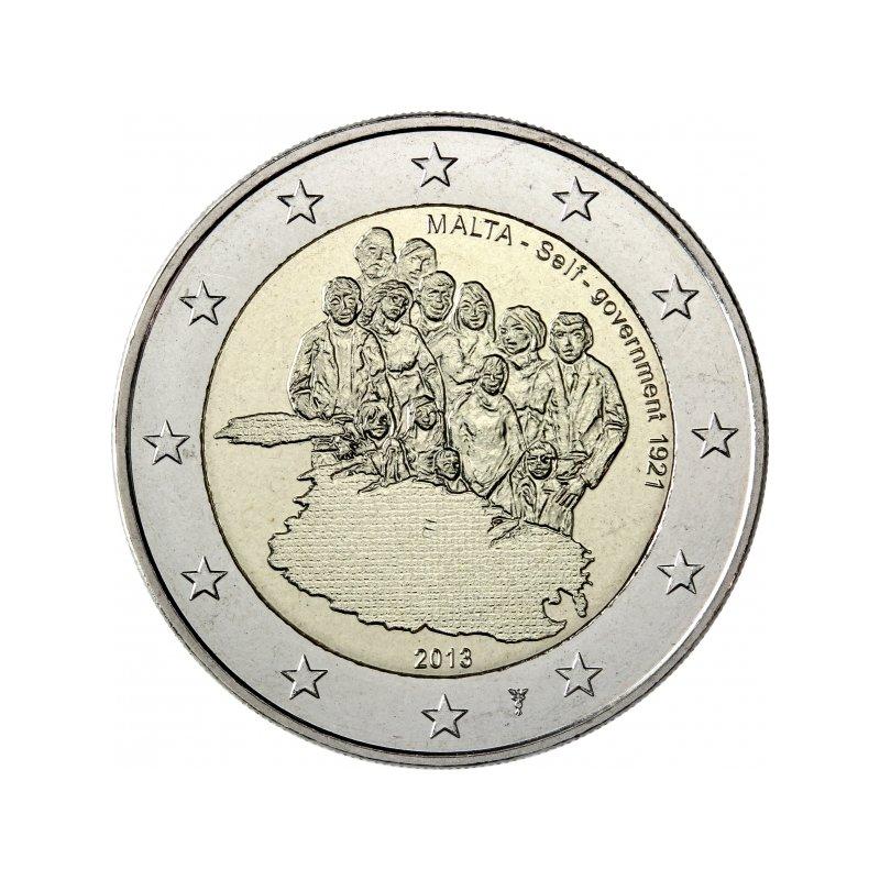 Münzzeichen Nl 2 Euro Malta 20131921 Selbstverwaltungquot