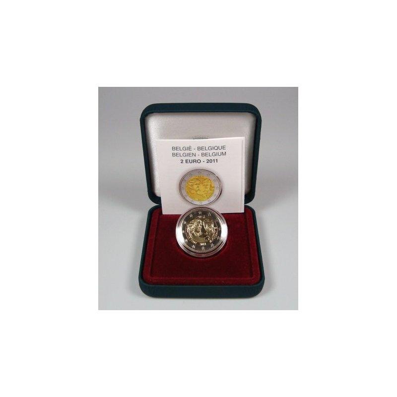 Pp 2 Euro Sondermünze Belgien 2011frauentagpp 2190