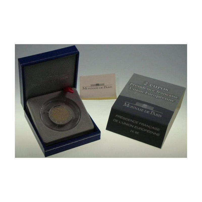 Pp 2 Euro Sondermünze Frankreich 2008ratspräsidentsch