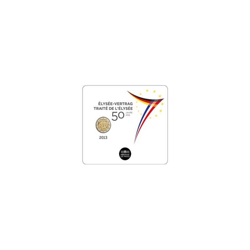 St 2 Euro Sondermünze Frankreich 2013elysee Vertrag