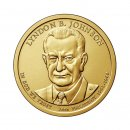 1 Dollar USA 2015 D Lyndon B.Johnson
