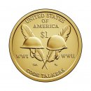 1 Dollar USA 2016 D Sacagawea - Nativ Dollar -Code Talkers