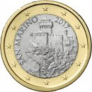 1 Euro San Marino 2017Second Tower NEUES Münzmotiv