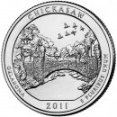 25 Cent / Quarter USA 2011 D Chickasaw