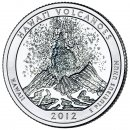 25 Cent / Quarter USA 2012 D Volcanoes