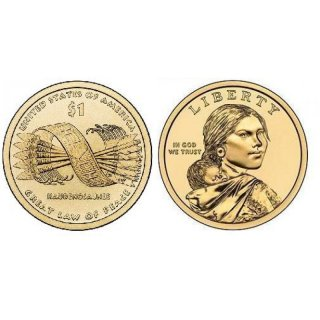 1 Dollar USA 2010 P Sacagawea - Nativ Dollar
