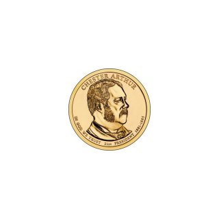 1 Dollar USA 2012 P Chester Arthur
