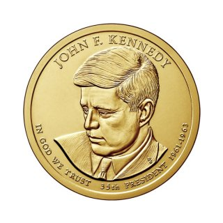 1 Dollar USA 2015 D John f.Kennedy
