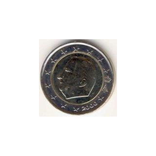 2 Euro Kursmünze Belgien 2000 590