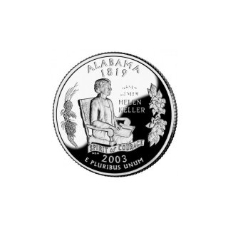 25 Cent / Quarter USA 2003 D Alabama