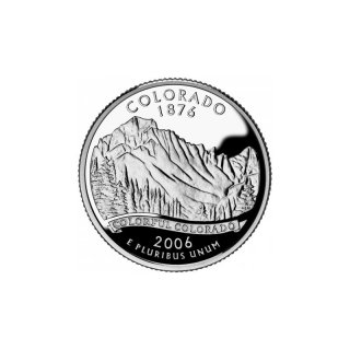 25 Cent / Quarter USA 2006 D Colorado