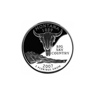 25 Cent / Quarter USA 2007 P Montana