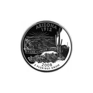 25 Cent / Quarter USA 2008 P Arizona