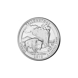 25 Cent / Quarter USA 2010 D Yellowstone