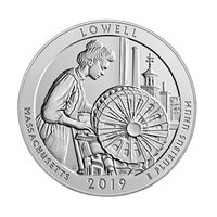 25 Cent / Quarter USA 2019 Massachusetts - Lowell D - Denver