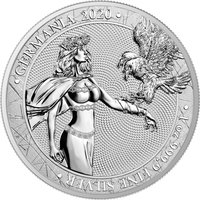 5 Germania Mark Silberunze 2020 Germania Limited Edition...